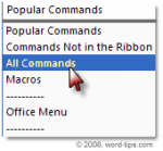 How to Access Auto Summarize in Microsoft Word 2007